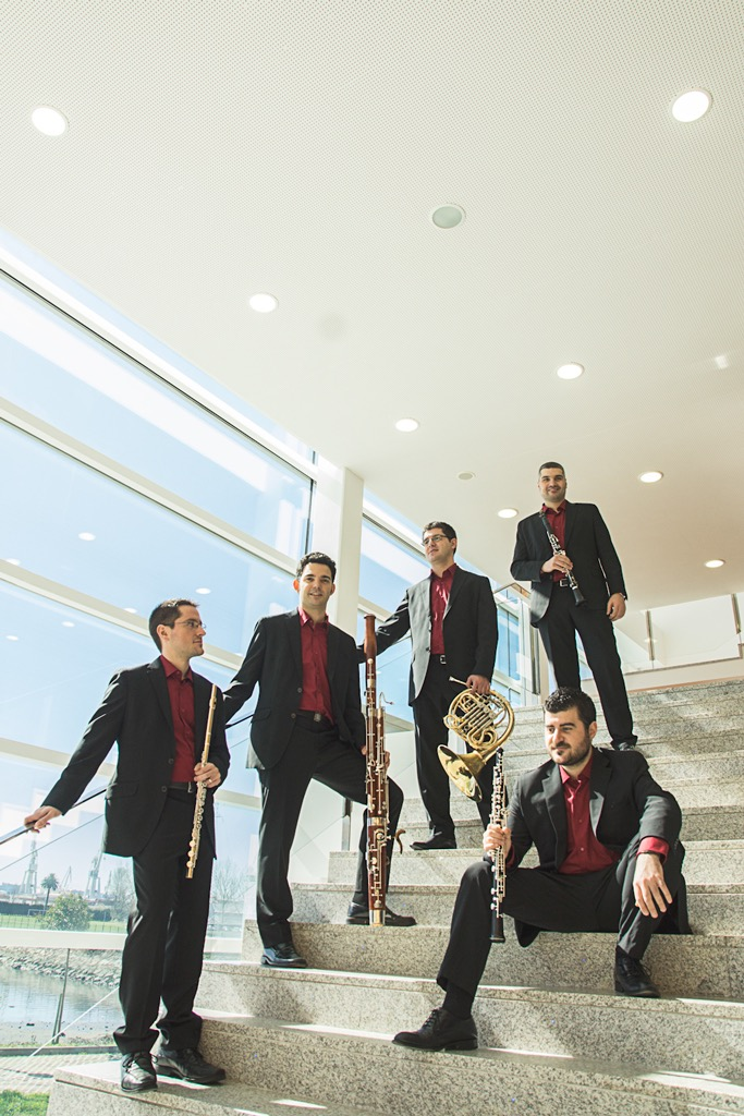 Zoar, Zoar ensemble, Quinteto de vento, Quinteto de viento, Wind Quintet, Quintette à vent, Bläserquintett, Álbum oficial 2015